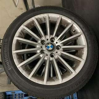 "BMW Stock F10 18"" 535i Rims + Tyres ( 70% Meat Left )"
