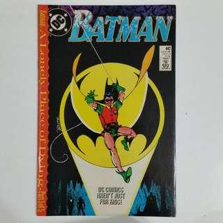 Batman No.442 comic