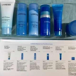 蘭芝水酷6件旅行組(Laneige Moisture Care Travel Kit)