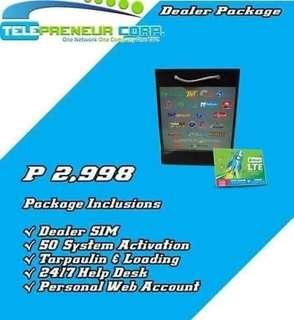 Telepreneur 1sim load all (earn extra income)