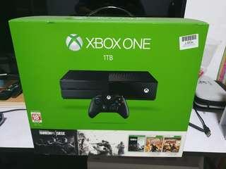 Xbox One 1TB (Black) with games