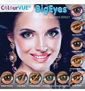 🚚 Colored contact lenses monthly