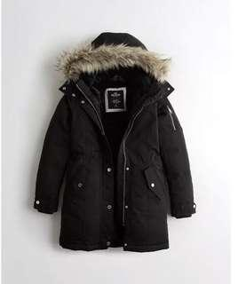 🚚 Hollister Down Parka Winter Jacket