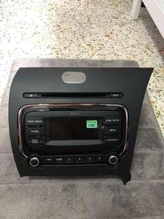 KIA Forte K3 SX Model Head Unit