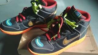 Nike dunk high premium sneakers shoe