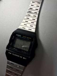 🚚 經典CASIO古早懷舊電子錶《絕版》
