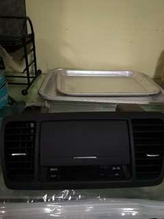 Subaru Gloves Compartment