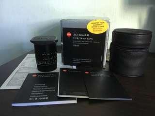 Leica Elmar-M 24mm f/3.8 ASPH E46 11648