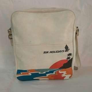 Vintage Singapore Airlines Sling Bag