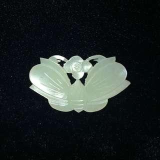 玉器收藏品 玉蝶