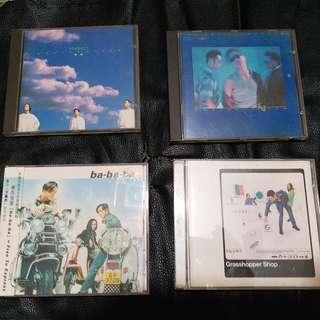 4CDs 草蜢 [世界會變得很美] [ba-ba-ba] [草蜢音樂店] [You are everything]