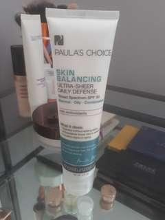 Paula's Choice Moisturizer with Spf 30