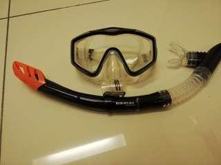 Snorkeling mask Gul