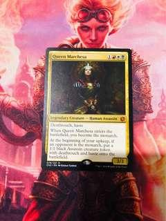 🚚 Magic the Gathering - 1x Queen Marchesa