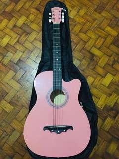 Mukita Acoustic Guitar ( From Malaysia )