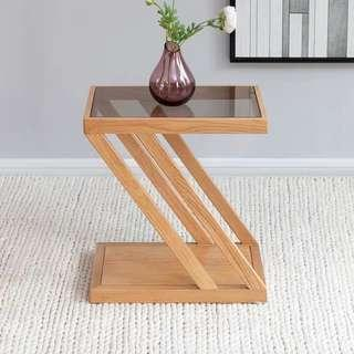 KIRBY Contemporary Wooden Side Table
