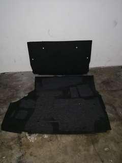 Bmw e36 rear boot carpet