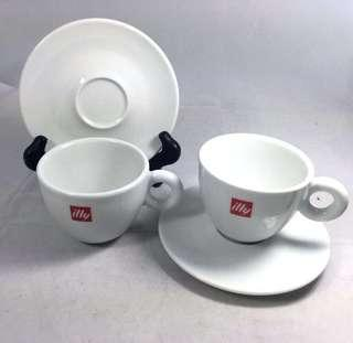 [USED] illy Small Coffee Cup & Saucer #OCT10