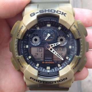 Casio G-Shock GA-100MM-5A 電子錶