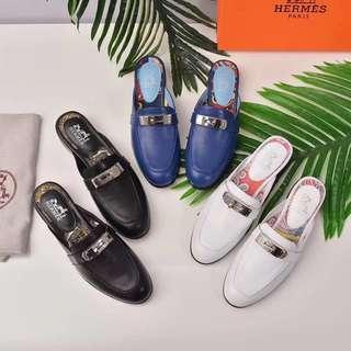 Hermes Kelly Slipon Sandals