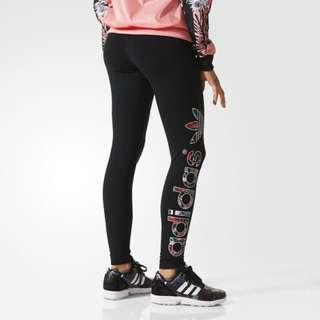 Adidas Leggings 緊身運動長褲打底褲瑜珈運動休閒褲