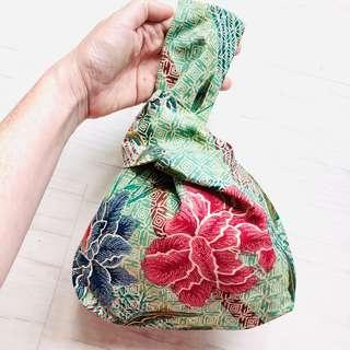 🚚 Batik Mini Knot Bag Handmade in Singapore