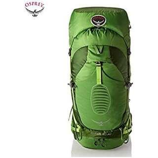 OSPREY ATMOS AG™️ 50 BACKPACK | HAVERSACK | THRU -HIKING | Color :  ABSINTHE GREEN