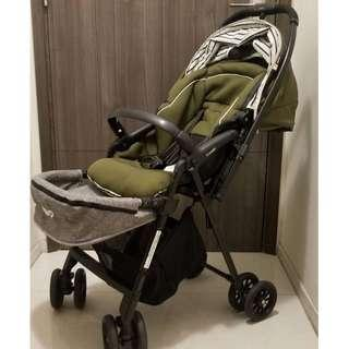 Combi Handy 2x Stroller 0-3 yrs old 90% new (with free feet extension)  Baby seldom sitting on it as loved to be cuddled 😅
