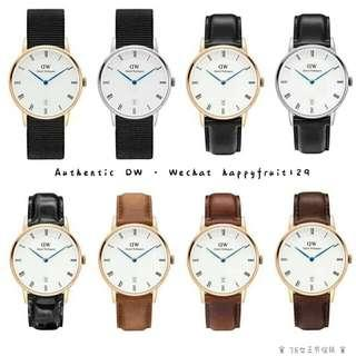 DW Dapper series 34/38mm