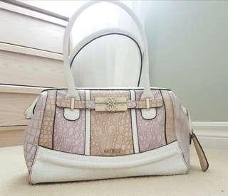 Guess pink purse/satchel