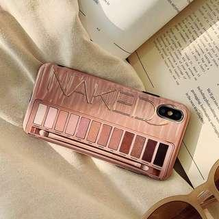 Naked eye shadow iphone 6/6p/7/7p/8/8p /X/XS/Xs MAX/XR phone case