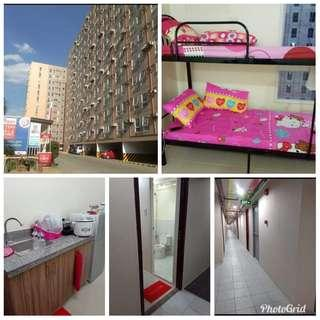 Condo Sharing lady bedspace walking distance in manila