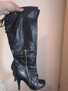 Black Boots - size 11