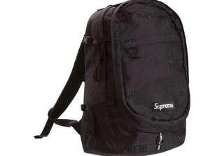 Authentic Supreme SS19 Backpack