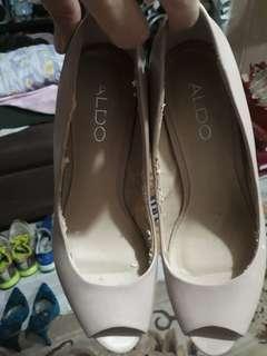 Aldo open toes high heels