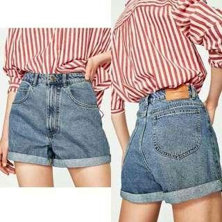 Zara Mom Shorts