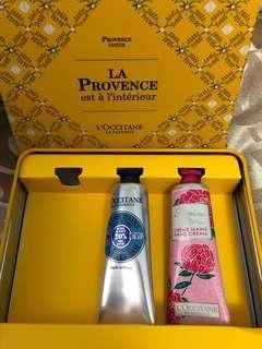 L'occitane lotions in box