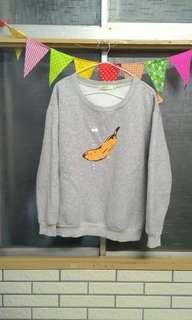 🚚 香蕉大學T 衛衣