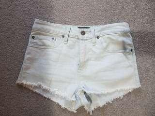 Bardot size 8 denim shorts