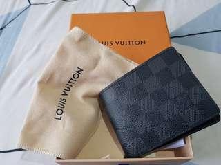 DOMPET Louis Vuitton Damier Graphite Wallet Men