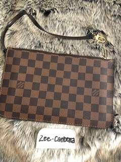Louis Vuitton Neverfull Pouch Damier Ebene