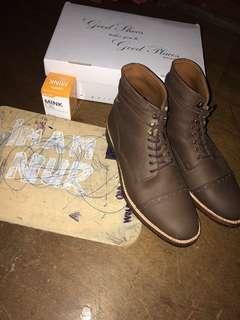 Boots captoe portee goods