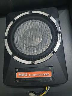 10 inch underseat subwoofer