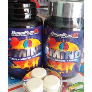 GMIND BRAINPLUS IQ - Focus, Memory & Energy Booster