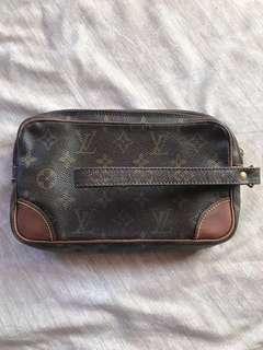 Louis Vuitton Marly Dragonne Clutch Lv not gucci prada