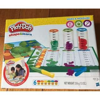 Play doh Shape and Learn Make and Measure