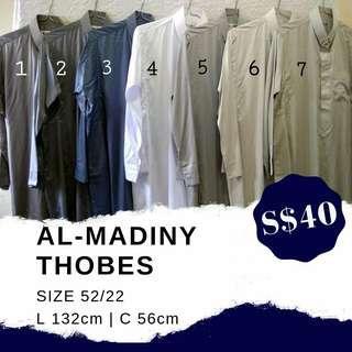 AL-MADINY THOBES SIZE 52/22