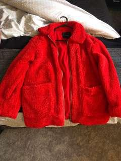 Glassons Teddy Bear Coat