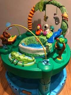 Evenflo Baby Exersaucer Jungle Jumperoo Fun Activity Learning