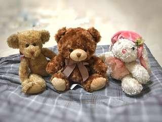 美國品牌泰迪熊 玩偶 布偶 娃娃